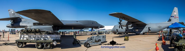 Photo 7th Bomb Wing B-1B from Dyess AFB and C-130J