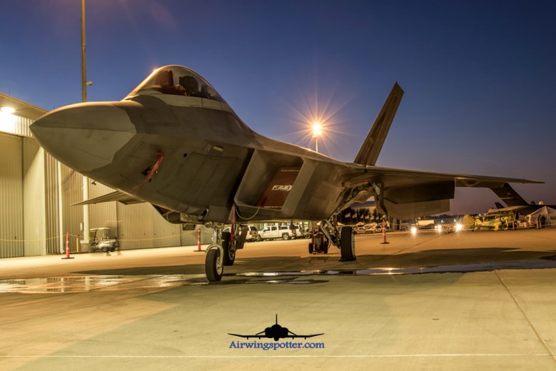 F-22A from Langley AFB