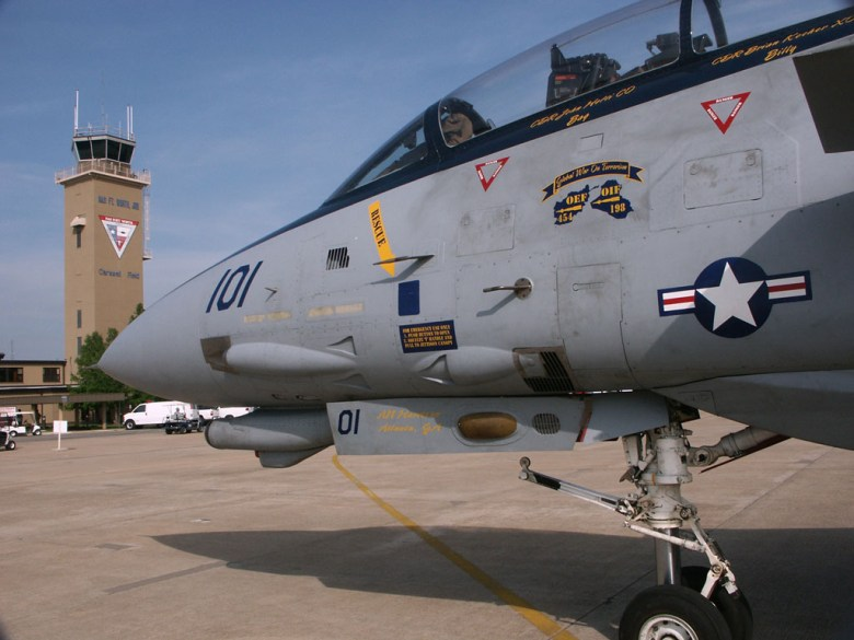 F14D VF213 in NAS Fr worth