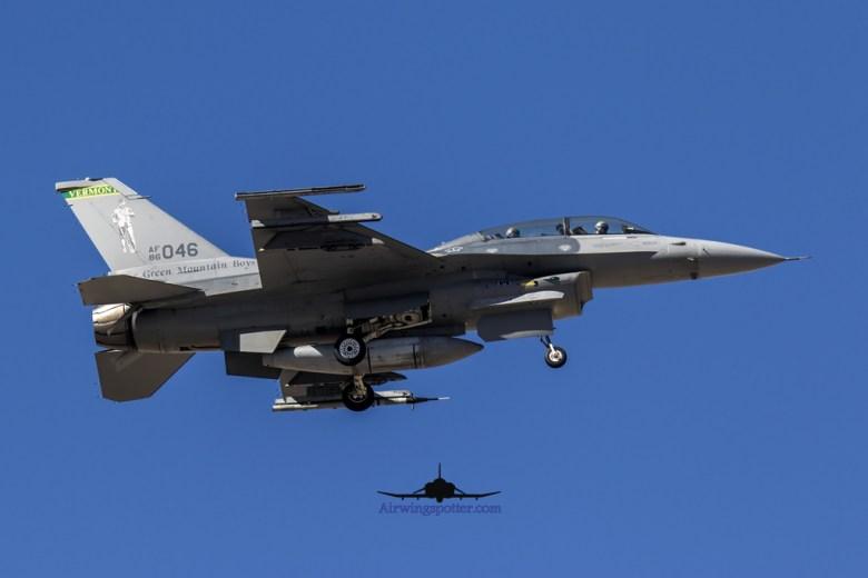 134th FS vermont F-16 1
