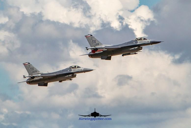 301st FW Spads tandem take off