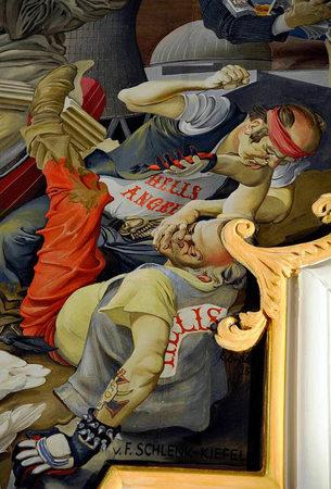 Hells Angels in der Kirche
