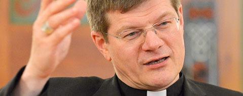 """Erzbischof: """"Für die Menschen, die in Not sind, da sein"""""""