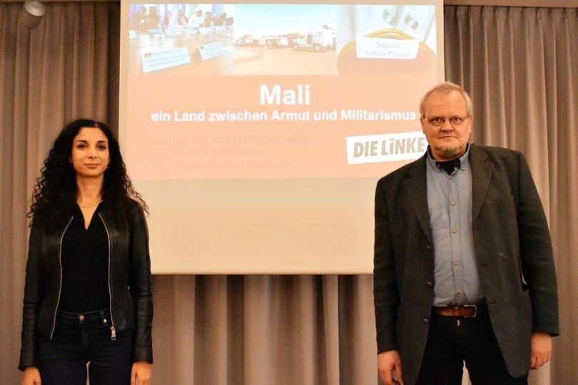 Jessica Tatti und Tobias Pflüger  | Foto: Thomas Loisl Mink