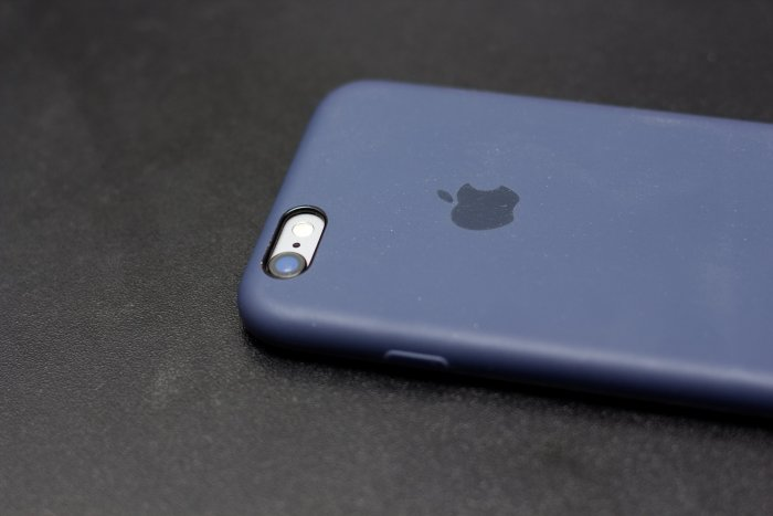 iphone 6s with silicon case