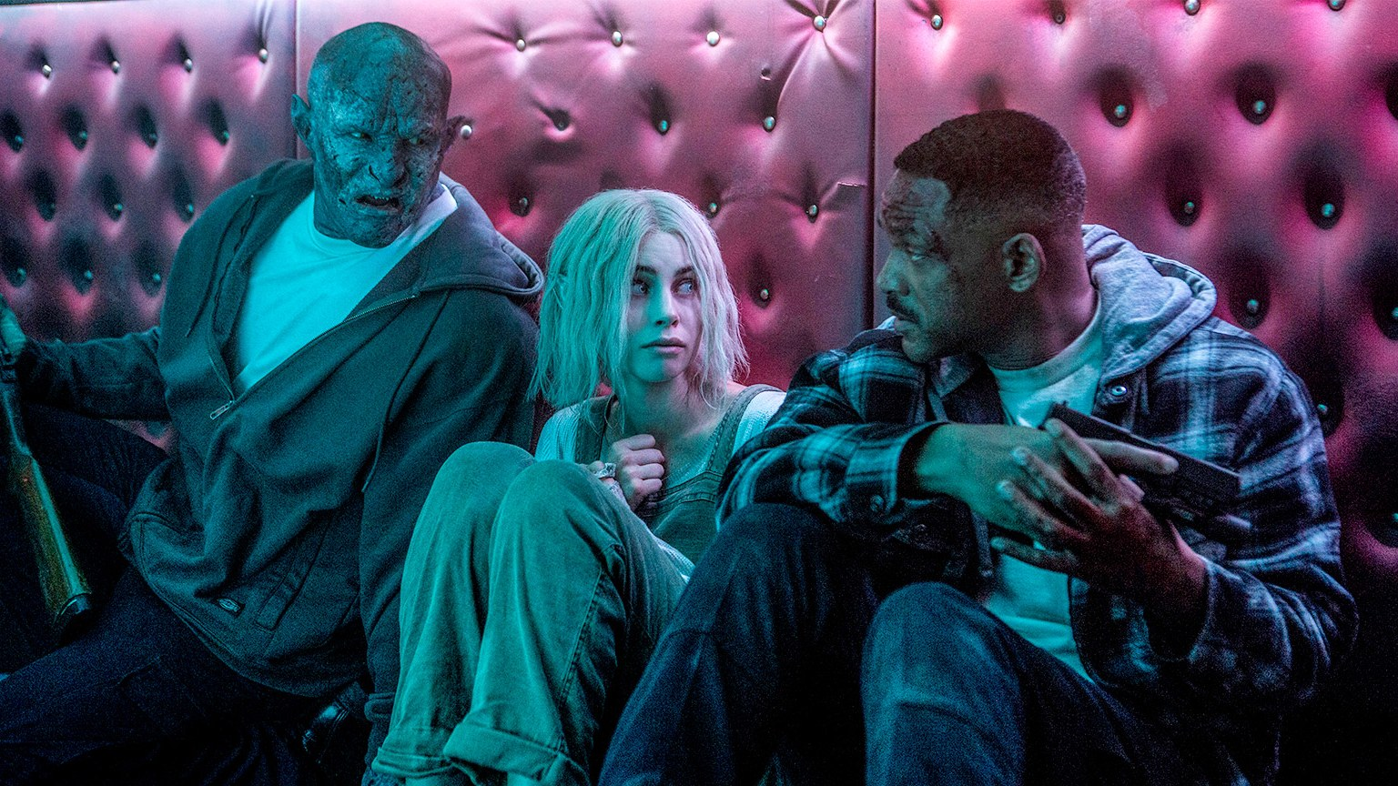 Where 'Bright' shines is not the movie itself