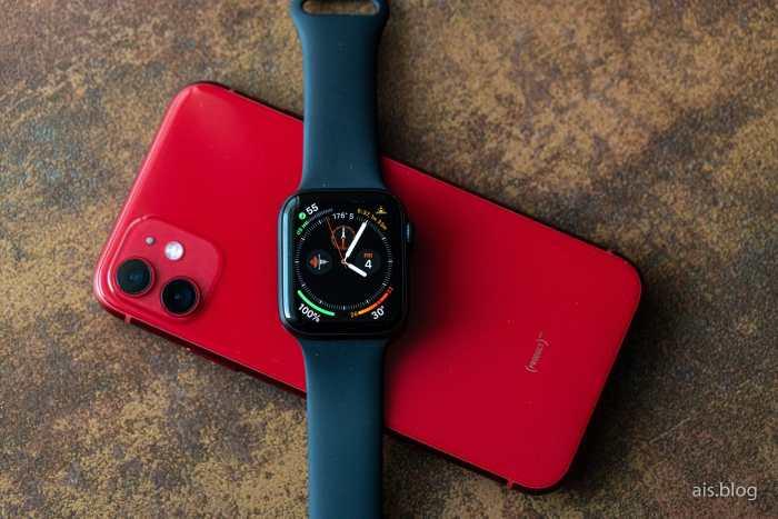 Apple Watch series 5 on iPhone 11