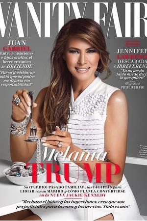 Melania Trump protzt auf der mexikanischen 'Vanity Fair'