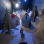 自分にプレゼント、ドールハウス的模型クリスマス