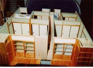 ドールハウス 長屋の生活(2007)写真NO,1