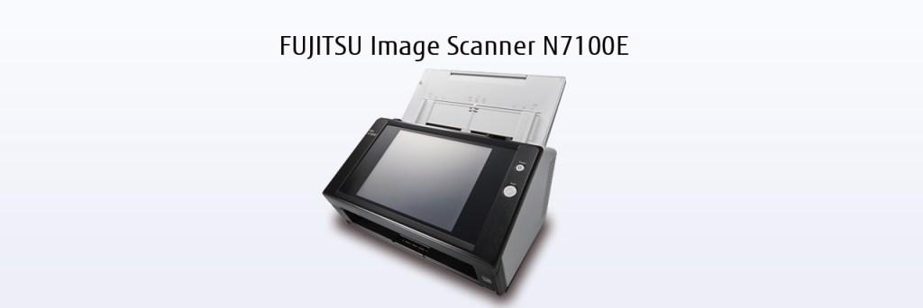 Fujitsu N-7100e A4 Document and Image Scanner
