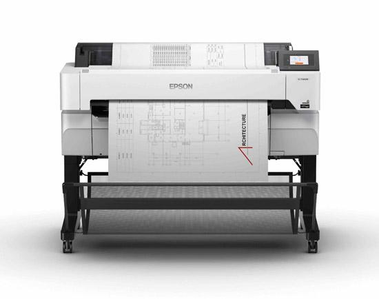 Epson SC-T5460M_Multifunction_Printer_Front_Scanning_Basket_Open