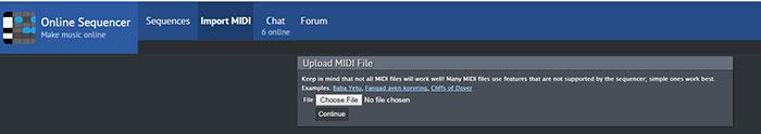 Programa de reproducción de archivos midi  ¿Cómo abrir un archivo