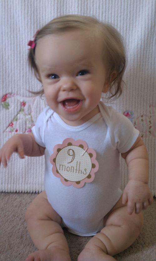 Addie 9 months!