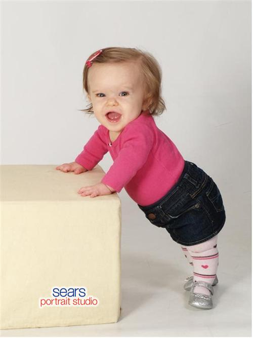 Addie 9 months