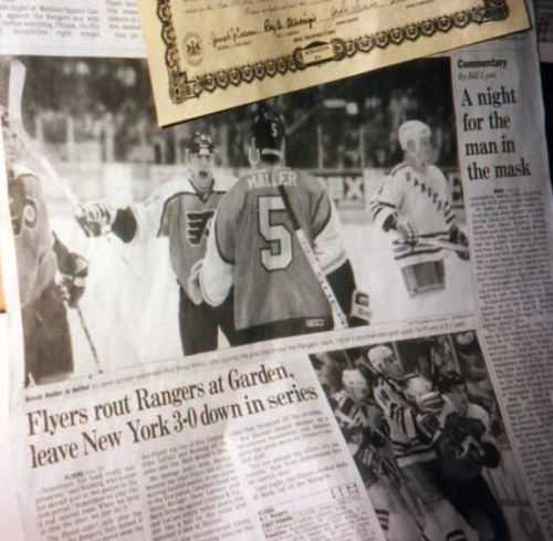 This article hung in my room... Rod is the guy celebrating. *swoon*
