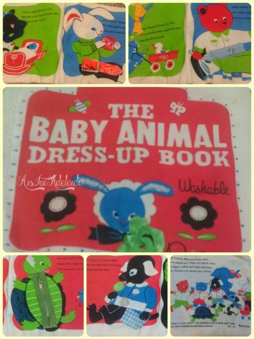 Baby Animal Dress Up Book