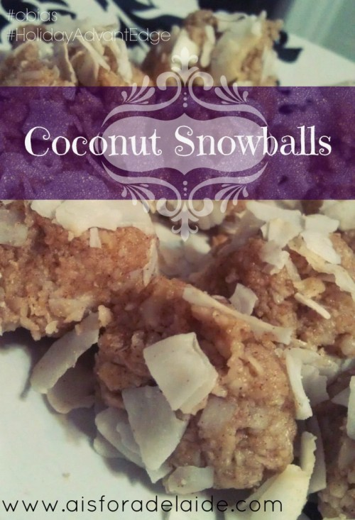 Entertaining, Holiday Recipes, Baking Ideas, Christmas Recipes, Bakery #HolidayAdvantEdge #cbias #shop Coconut Snowballs