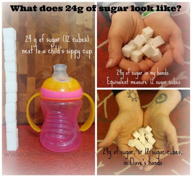 #aisforadelaide #sugarintake 24g of sugar #sugarcubes