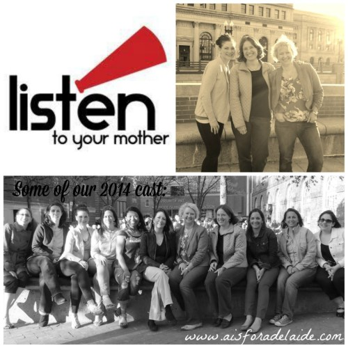 #aisforadelaide #listentoyourmother #2014cast #sisterhood