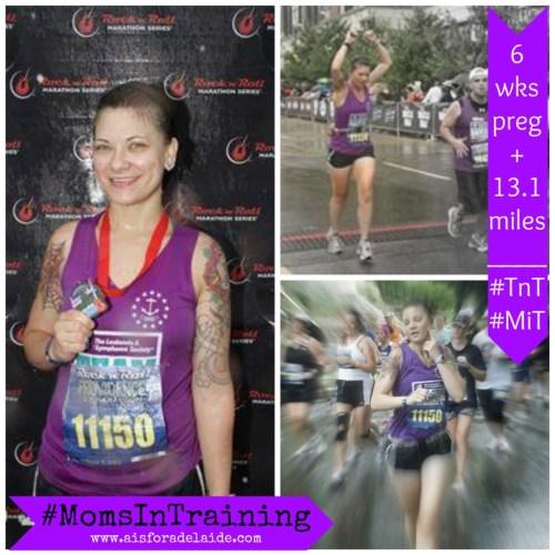#AisforAdelaide #MomsInTraining #TeaminTraining #TnT #charity #pregnancy