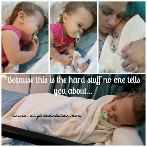 #aisforadelaide #thehardestpart #parenting