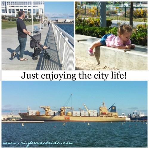 #aisforadelaide #dole #citylife San Diego #travel