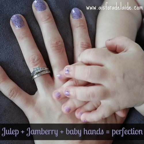 #aisforadelaide #jamberry #julep #nailart Marvelous Monday