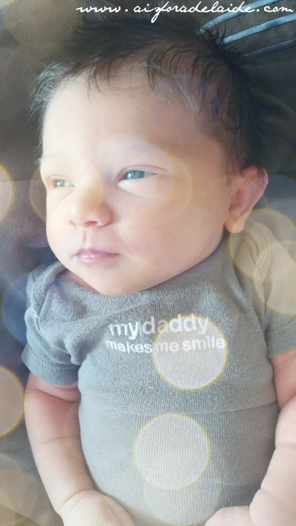 #aisforadelaide #CamilleThea Umbilical Cord #newborn #oneweek #birthday