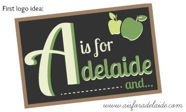 First try #aisforadelaide Neapolitan Designs #webdesign #graphicdesign #blog #blogdesign