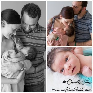 #Aisforadelaide #CamilleThea #parenting #newbornphotography the first days