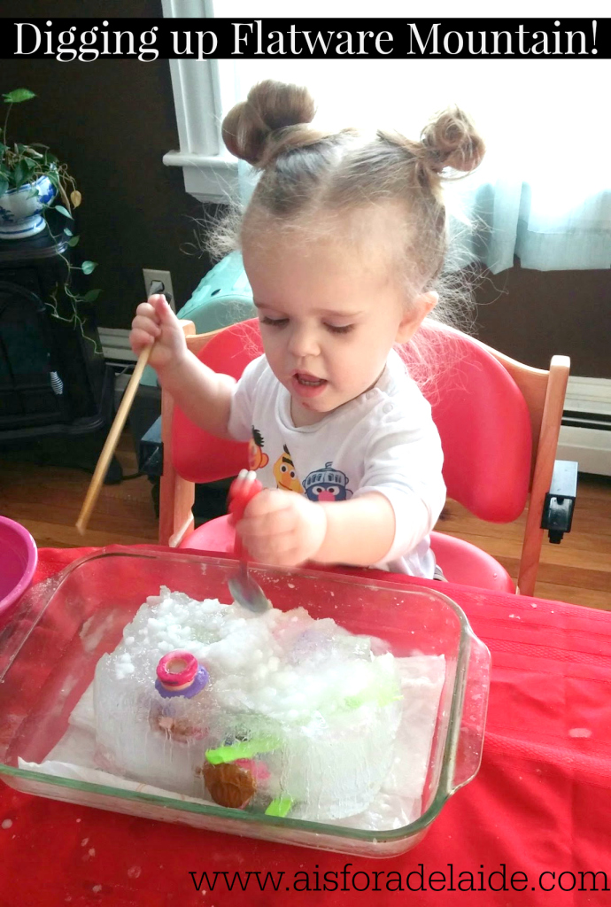 Science, sensory and surviving the indoors with a #toddler! #aisforadelaide #camillethea