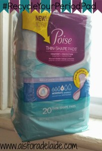5 Ways to stop hearing the same commentary + this #fitnesshack as a way to #RecycleYourPeriodPad! Your shoes will never be so dry! #aisforadelaide #ad