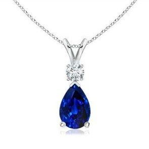 What do you want for #mothersday? A beautiful sapphire pendant is on my wishlist. #aisforadelaide #sponsored
