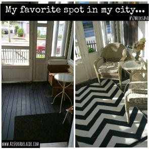 My Favorite Spot in my City #52WeeksA4A Blog Challenge