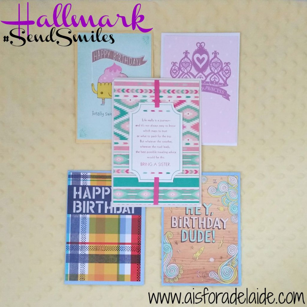 #SendSmiles with #Hallmark Cards starting at 47 cents. #CollectiveBias #ad