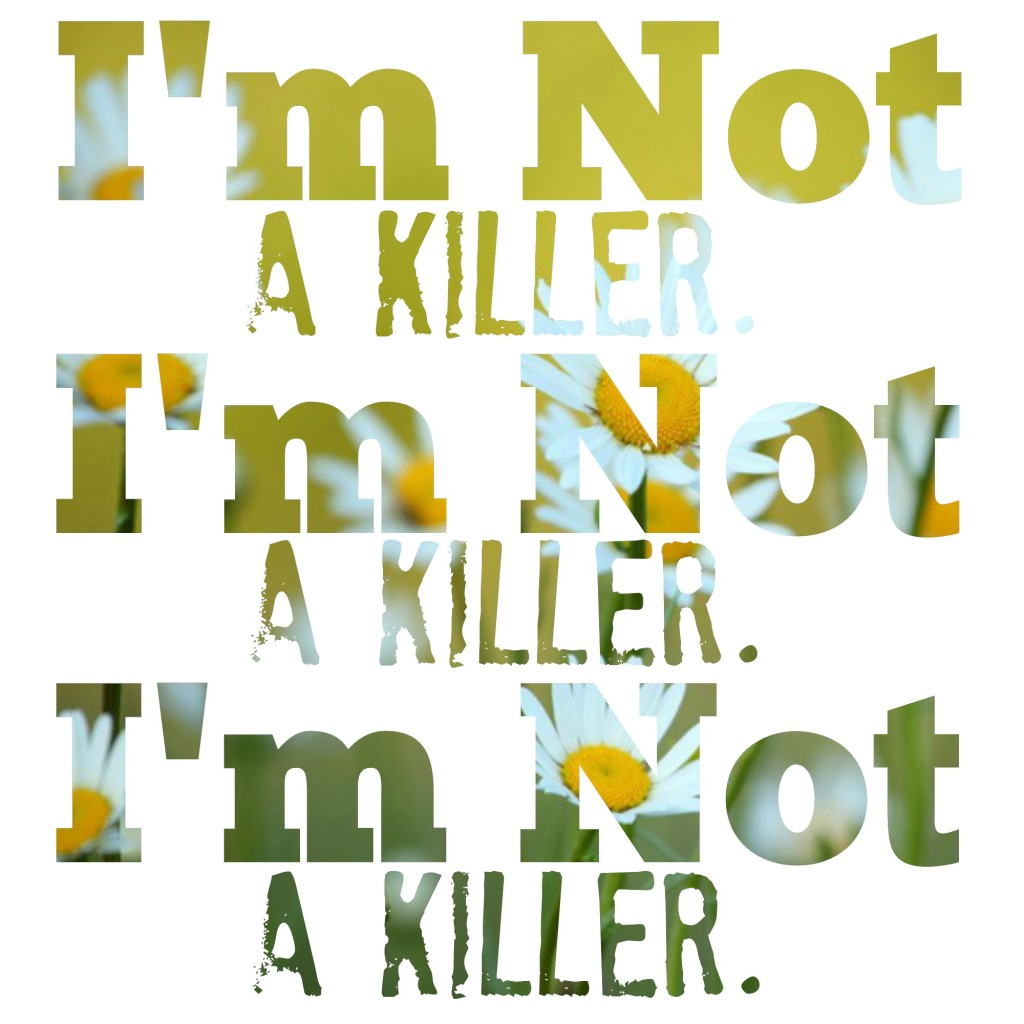 I'm not a killer #StigmaFighter #mentalhealth #depression