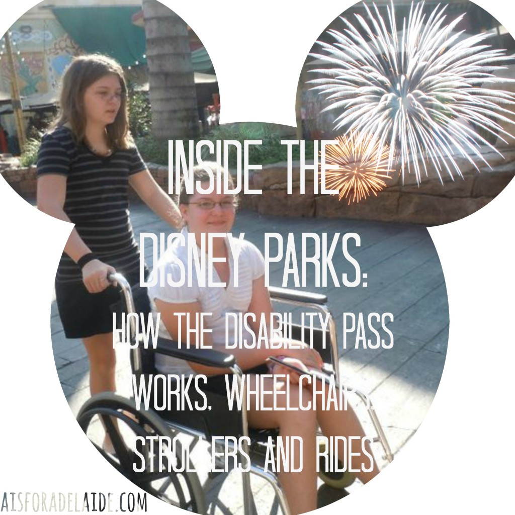 Inside the Disney Parks How the Disability Pass Works, Wheelchairs, Strollers and Rides