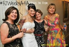 #52WeeksA4A blog challenge Week 30 Where you're from: Philadelphia