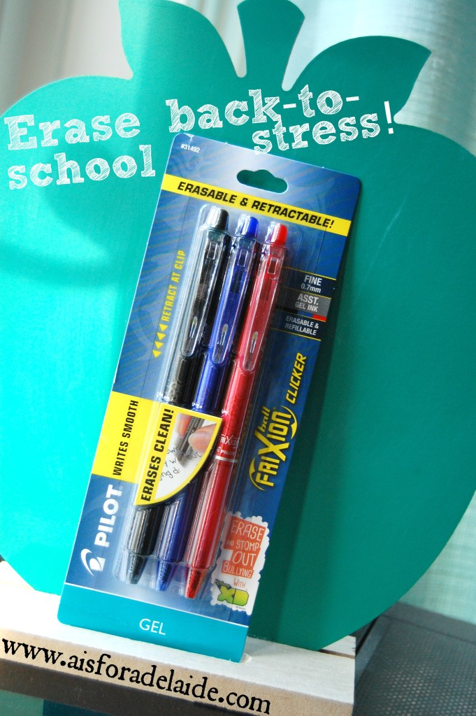 Erase back to school stress @Target @PilotPenUSA #EraseStress #fashion #CollectiveBias [ad]