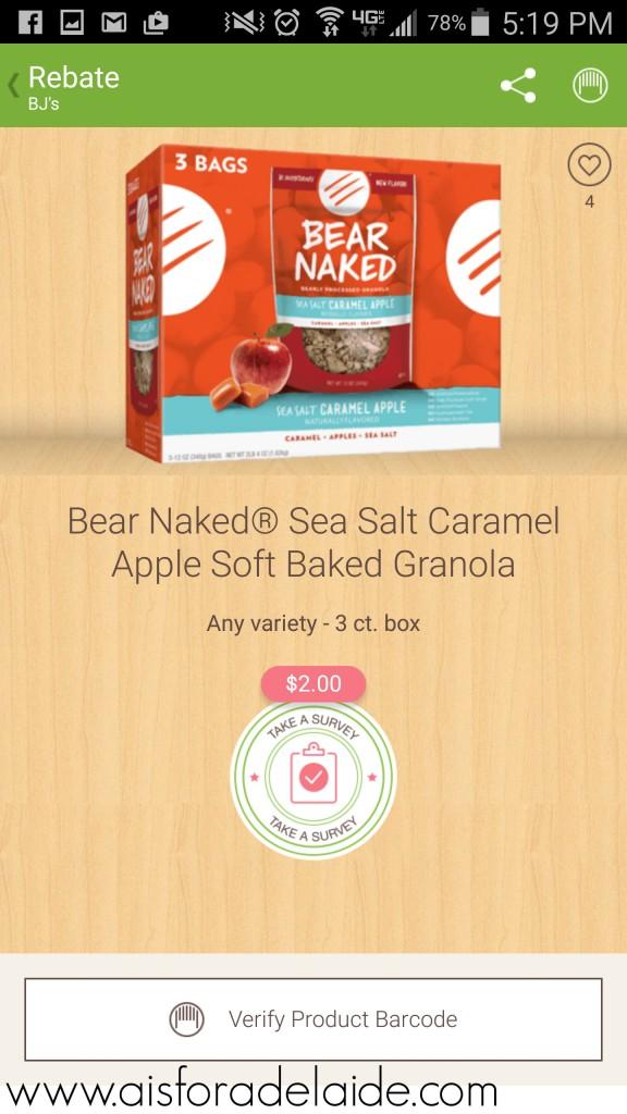 Sea Salt Caramel Apple + Honey Granola Bites #FueledByGranola #recipe #cbias #ad