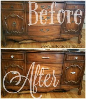 #DIY NO MESS China cabinet update!