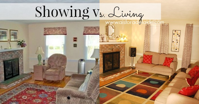 The transformation of the living room in our new home and #ICantEven handle it! #CollectiveBias #ad