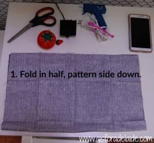 No-Sew Pouch Tutorial #BeHealthyForEveryPartofLife #ad