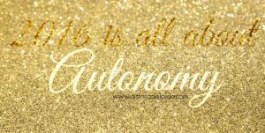 Word of he year: Autonomy