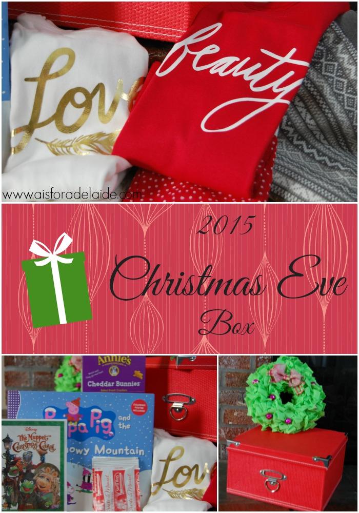 2015 Christmas Eve box #holiday #tradition #ChristmasEve