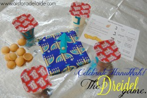 Celebrating Hanukkah and learning the Dreidel Game! #snackpackmixins #ad @Walmart