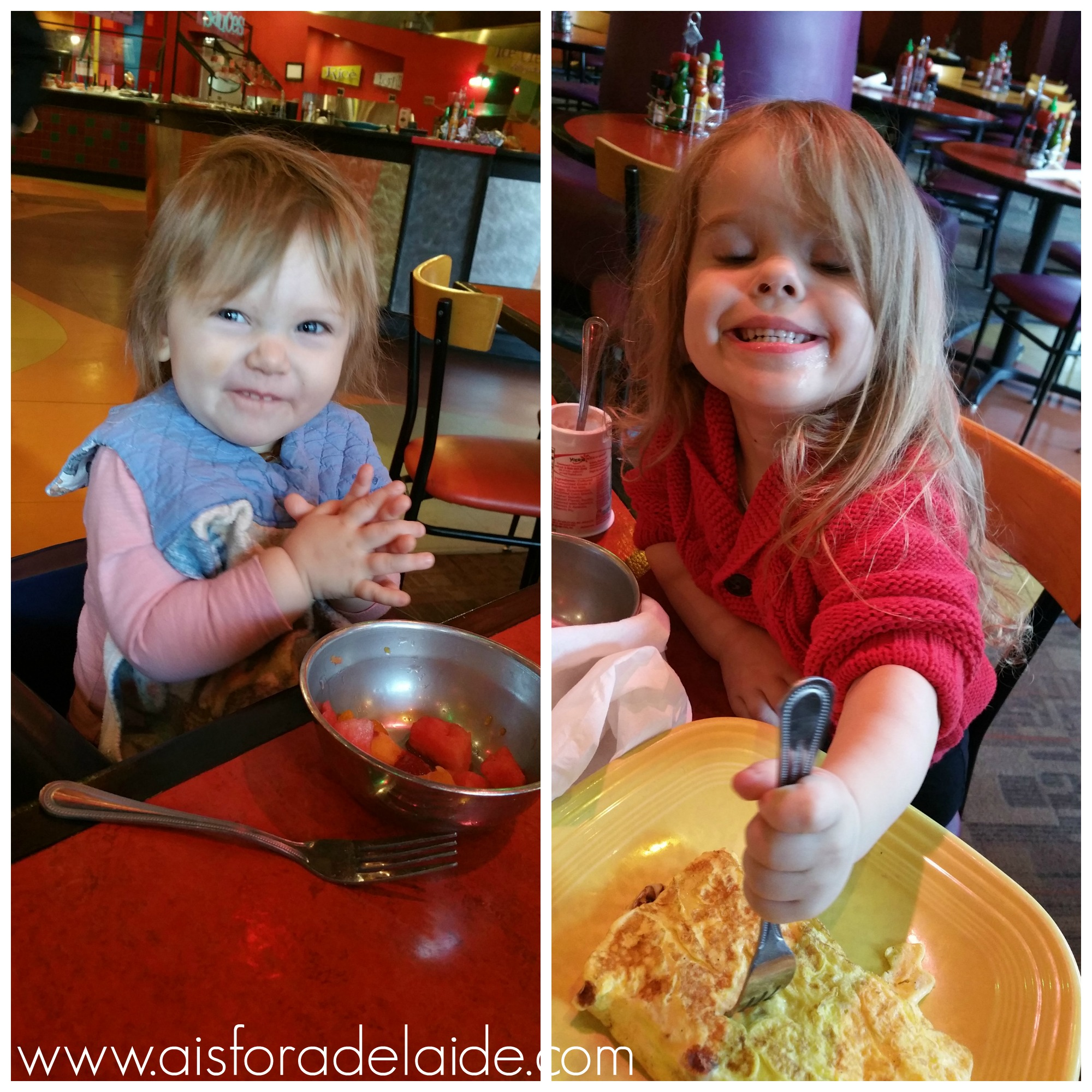 Check out Fire +iCE for brunch this weekend! Kids eat FREE! #review #hosted