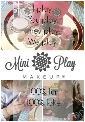 MiniPlay Makeup for fun, imagination, and motor skills!