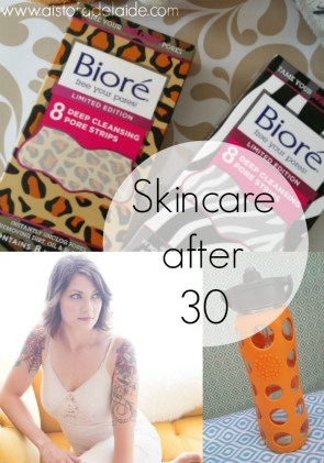 5 Tips for Skincare Past 30 #FiercelyCleanPores #beauty [ad]